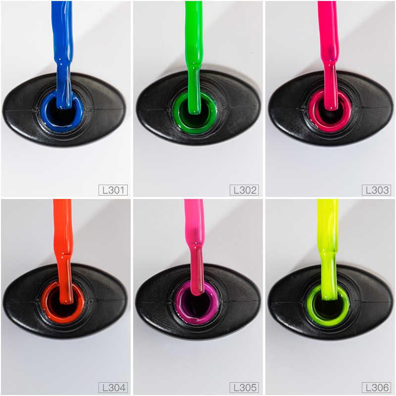 2019 nowy kolor fluorescencyjny lakier do paznokci szybkie suszenie klej do paznokci odpinany lakier do paznokci klej jednolity kolor specjalny lakier do paznokci TSLM2