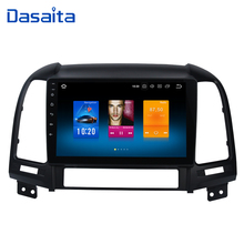 "Android 10 Car Multimedia for Hyundai Santa Fe GPS Navigation 2006 2007 2008 2009 2010 2011 9"" IPS Screen 4G 64G"