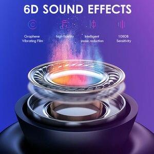 Image 5 - אלחוטי Bluetooth 5.0 אוזניות TW08 TWS מיני אוזניות אוזניות