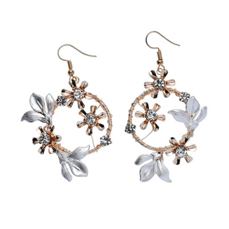 Bridal Wedding Jewelry Set Ornaments Flower Hairpin Accessories Clips Bridal Hair Accessories Pearl Headbands for Bride Decorate