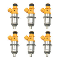 6x High Quality Fuel Injector For Mitsubishi Pejero Yamaha Outboard HPDI 200 250 300 HP 2003 E7T05080 E7T25080 1465A011 MR560555