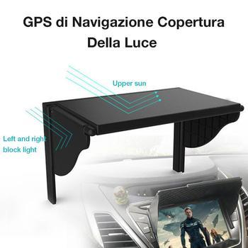цена на Universal Navigation Hood Car GPS Sunshade Cover For 5.5-10 Inch Car GPS Navigation Screen Visor Sunshade Car Monitor Sun Visor