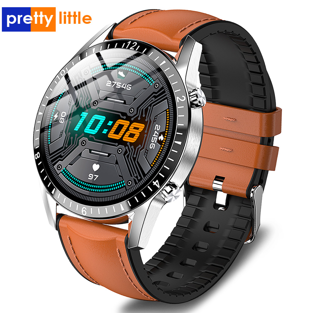 New Li9 Smart Watch Men Bluetooth Call Custom dial Full Touch Round Screen Waterproof Smartwatch Fitness Sport For IOS Android