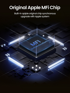 Image 5 - Ugreen 2.4a Lightning MFi USB кабель для iPhone 7 6 5 быстро Зарядное устройство USB кабель для iphone 8X5 5S iPad Ipod зарядки шнур