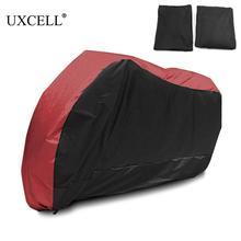 Uxcell Motorrad Abdeckung Universal Outdoor Uv Protector für Roller Wasserdicht Bike Regen Staubdicht Abdeckung für Yamaha Suzuki Etc.