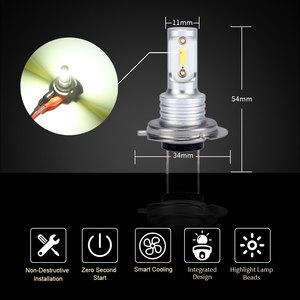 Image 5 - SHAYING X3 Series 2 Pcs Super Bright H16(jp) H8/9/11 H7 9005 HB3 9006 HB4 6500K LED Car Fog  Lights Lamp 6500k 12V Waterproof