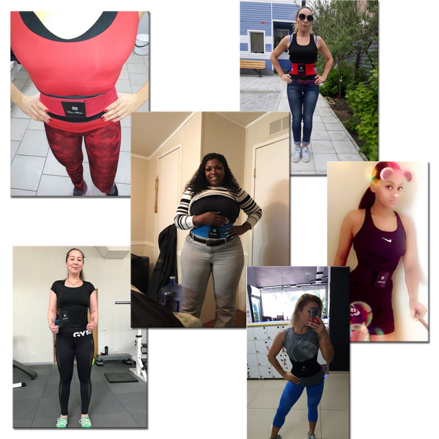 Women Xtreme Power Belt Slimming Body Shaper Waist Trainer Trimmer Fitness Corset Tummy Control Shapewear Stomach Trainers 3