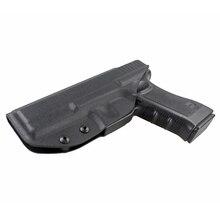 狩猟 Glock ホルスター究極隠さキャリーウエストバンドガンホルスターグロック 17 G22 G31 右手