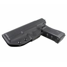 Kabura myśliwska Glock kabura z ukrytym paskiem kabura pistoletowa do glocka 17 G22 G31 prawa ręka