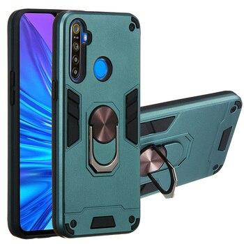 Перейти на Алиэкспресс и купить Для OPPO Realme 5 3 2 Pro 6i 5i 5s 3i C3 C2 C1 U1 Q XT X2 X Lite противоударный чехол Warframe Магнитный кольцевой кронштейн 2в1 чехол для телефона