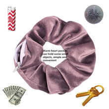 Женский бархатный кошелек из tencel pocket резинки для волос