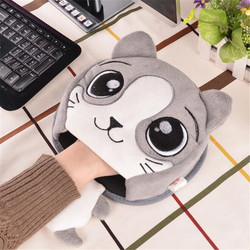 Usb Heated Mouse Pad 5v Cartoon USB GIfts Animals Lovely Lady Warmer Hands Office Winter Mouse Mat For Women Working Dropship