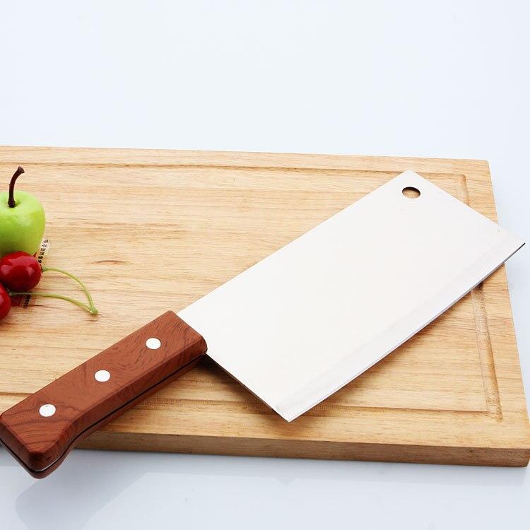 Китайский нож-слайсер, супер острое лезвие, 7 дюймов, полный кухонный нож, быстрая нарезка мяса, филе рыбы, ножи, поварские инструменты