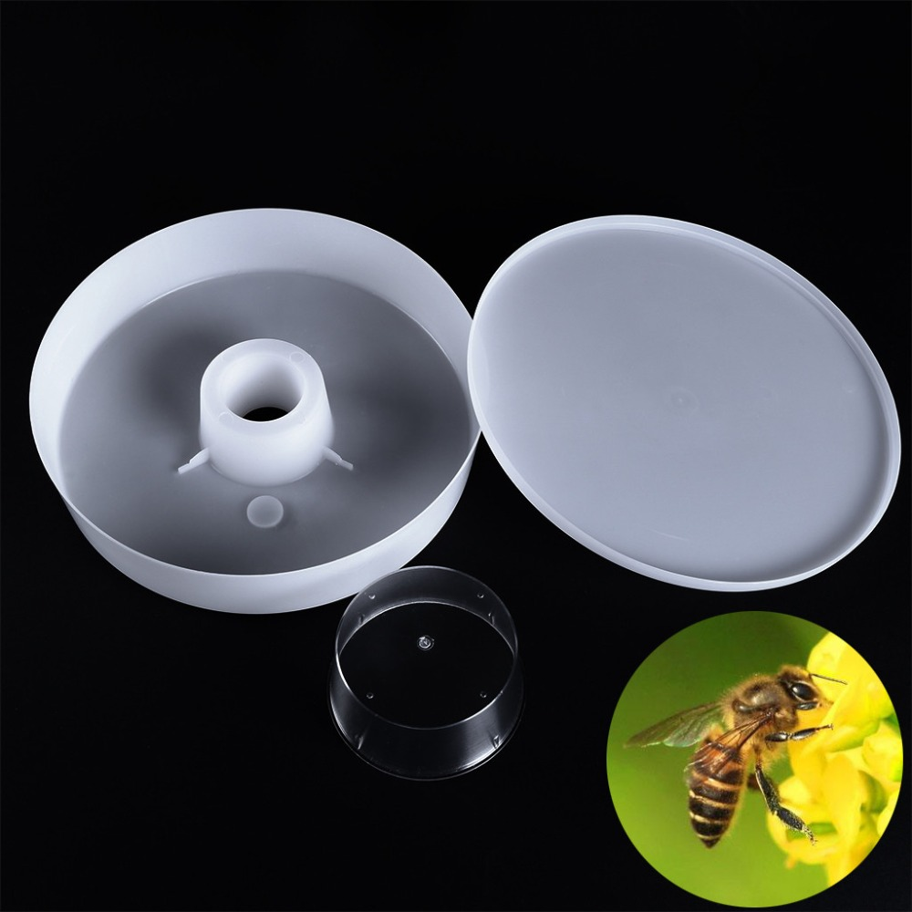 6pcs Honey 4 Pint 2L Rapid Bee Feeder Container Beekeeping Tool Set Durable New