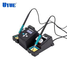 Soldering station double electric iron temperature UYUE-3600 digital display adjustable