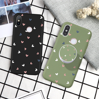 Amor corazón para Xiaomi Redmi Note 7 6 5 8 9 Pro 9S 9A 8T 8A 7A 6A 5A S2 Mi nota 10 9 lite funda de teléfono/carcasa/soporte hembra