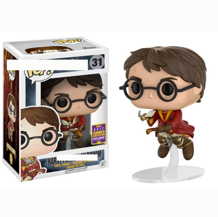 Figurine Harry Potter Ginny Weasley on Broom Pop 10cm