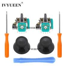 Ivyueen 2 pçs 3d analógico joystick sensor módulo potenciômetros & miniatura para microsoft xbox um s x controlador sem fio