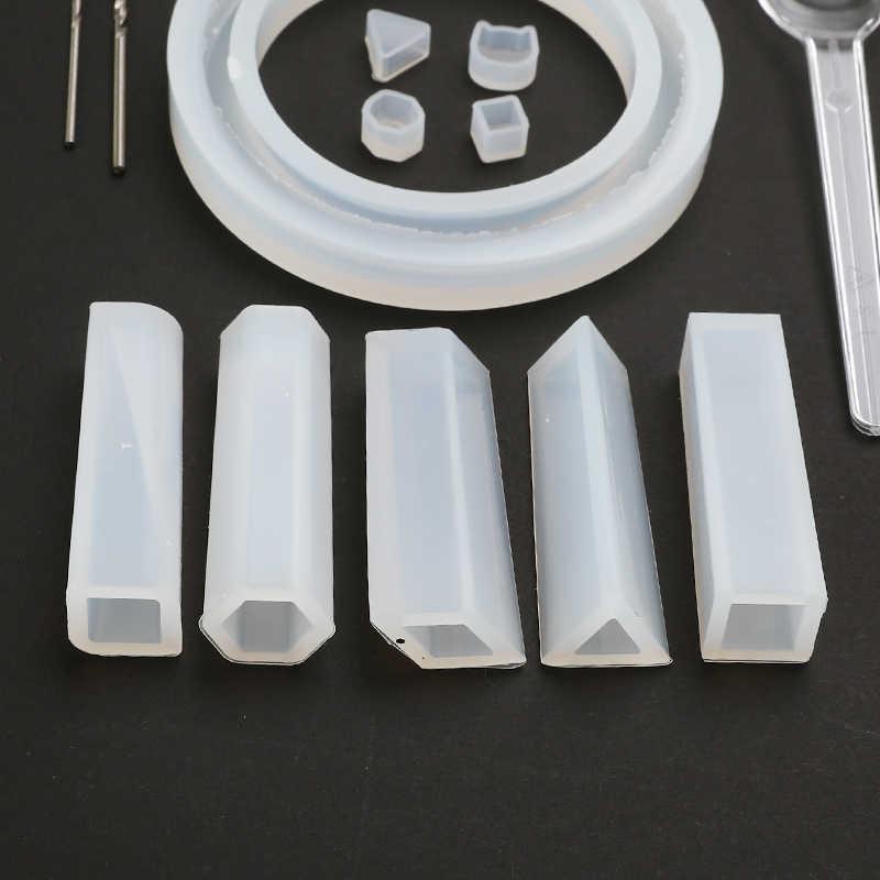 83 sztuk/zestaw DIY żywica odlewanie form silikonowe formy do żywicy narzędzia do tworzenia biżuterii epoksydowa formy żywiczne эпоксидная смола