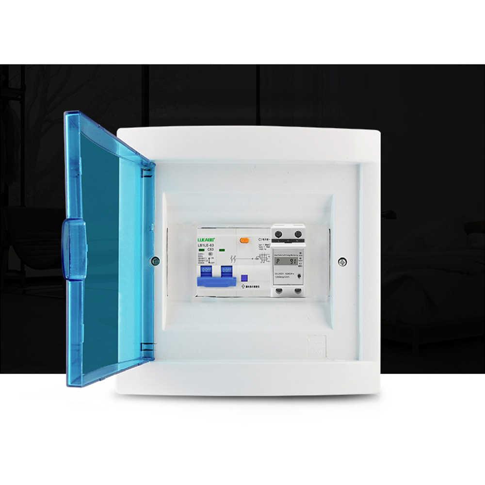 WIFI Din Rail Watt mètre AC 220V ampèremètre voltmètre monophasé Volt ampères puissance Active compteur d'énergie tension courant Montior
