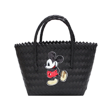 Disney Mickey mouse lady handbag cartoon large capacity bag female women fashion portable travel street shoot beach Shoulder bag captain e r walt the hall street shoot out