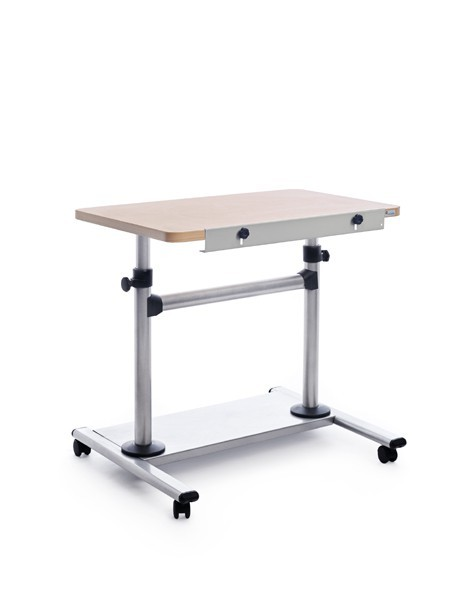 TABLE MOBILE ADJUSTABLE HEIGHT INCLINACION BEECH COLOR