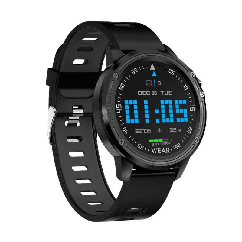 L&PC L8 Full Round Touch Screen Sport Smartwatch Long Time Standby Smart Watch Men PPG + ECG IP68 Waterproof For Android IPhone