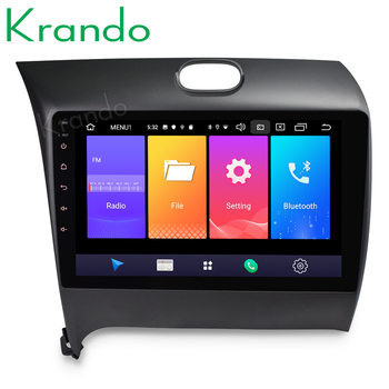 Krando Android 9.0 10.1 IPS Touch Screen car Multimedia player for KIA CERATO/K3/FORTE 2013+ navigation system gps No 2din DVD image