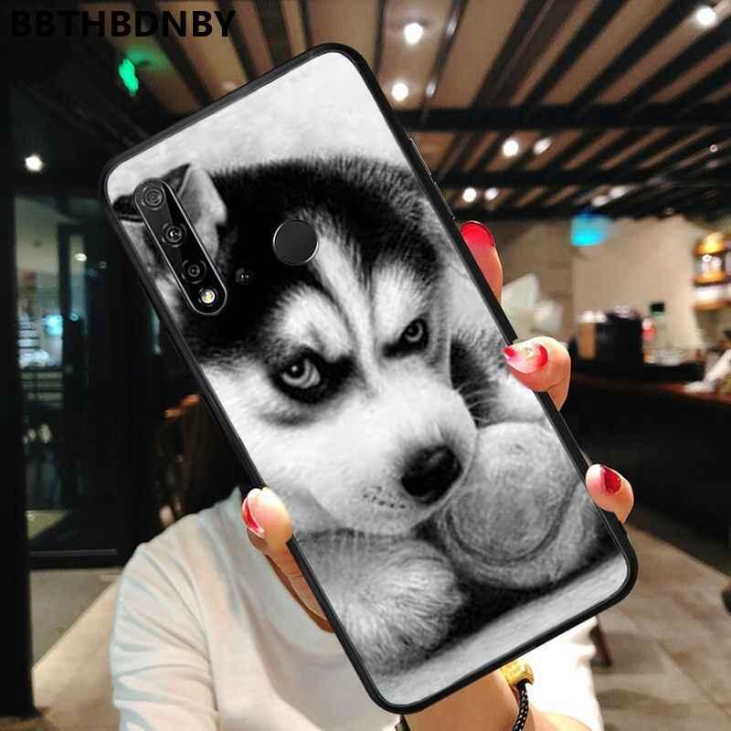 Phone Case Black TPU Soft Phone Case Cover For Huawei P10 Lite P20 Pro Lite P30 Pro Lite Psmart Mate 20 Pro Lite