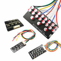 2S-17S 3S 4S 6S BMS Active Balancing 1A 5A Capacitor/inductance Active Equalizer Balancer Battery Board Li-ion Lipo LTO Lifepo4