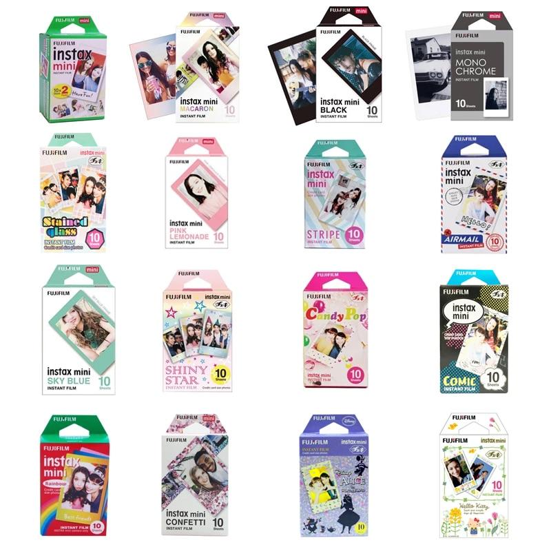 10-200 листов белых цветных пленок Fuji Fujifilm instax mini 11 9 8 для камеры instax