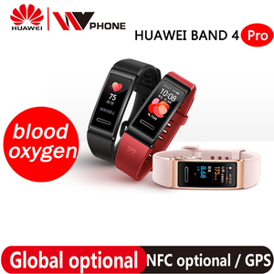 Image 1 - هواوي باند 4 برو SmartBand رصد معدل ضربات القلب الصحة مستقل لتحديد المواقع الصحية الاستباقية رصد SpO2 الدم الأكسجين