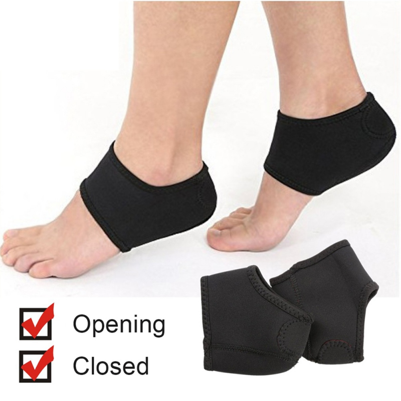 Outdoor Sports Protector Ankle Support Safety Running Basketbal Diving Cloth Exfoliating Heel Socks Relief PainL7375