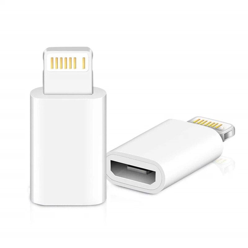 Мини OTG адаптер Lightning/Micro USB для Apple IPhone 12 11 Pro Max XS MAX XR X 7 8 6S 6, синхронизация данных, зарядный кабель, соединитель
