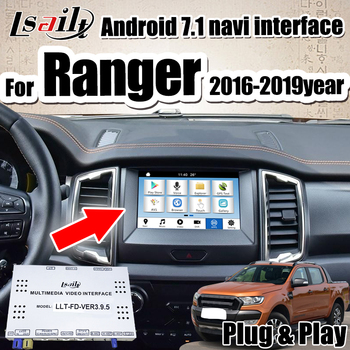 Android 7.1 Video interface Box for Ford Ranger Sync3 integrated carplay Interface by Lsailt