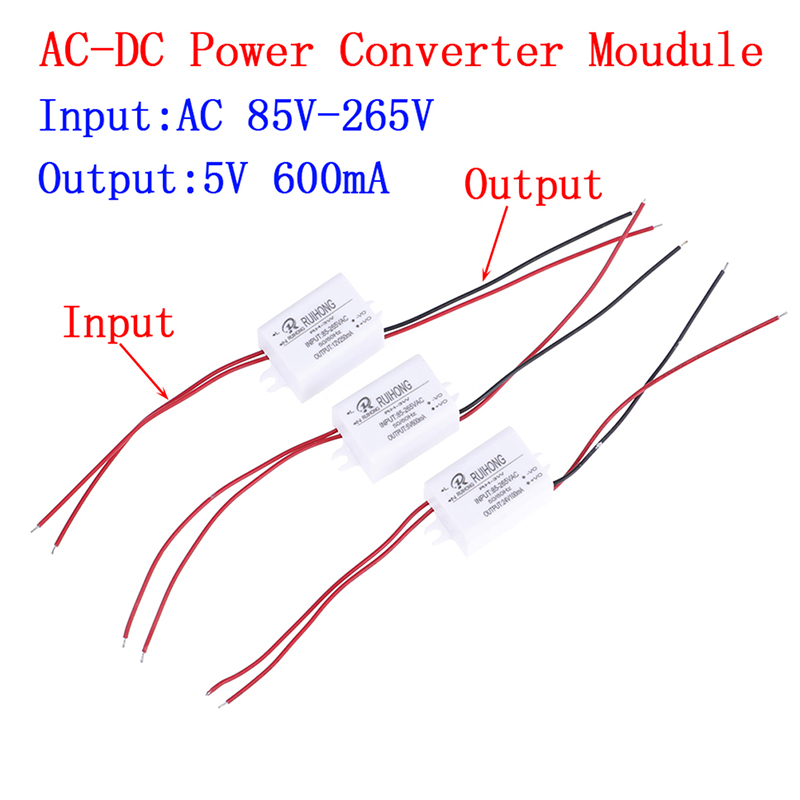 AC110V <font><b>220V</b></font> 230V <font><b>To</b></font> DC 3.3V 5V <font><b>12V</b></font> Mini Buck Converter AC-DC Power Supply <font><b>Module</b></font> image