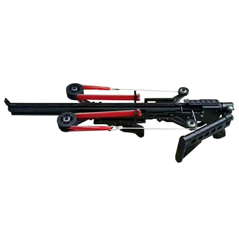 Fire Dragon G5 Semi Automatic Slingshot Hunting Fishing Crossbow Catapult Multifunction Steel Ball Ammo Arrow Continous Shooting-2