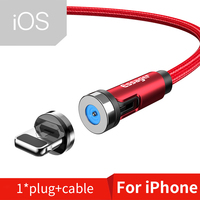 Red iOS Cable