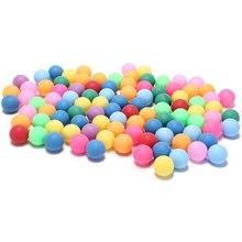 40 мм мячи для настольного тенниса 24 г случайные цвета 50 шт