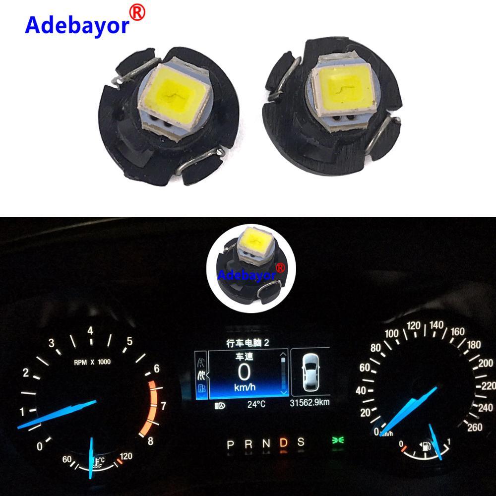 100 T3 светодиодный светильник 1 SMD автомобильный интерьерный светильник приборной панели авто светильник приборной панели тире блок ламп 12 В ...