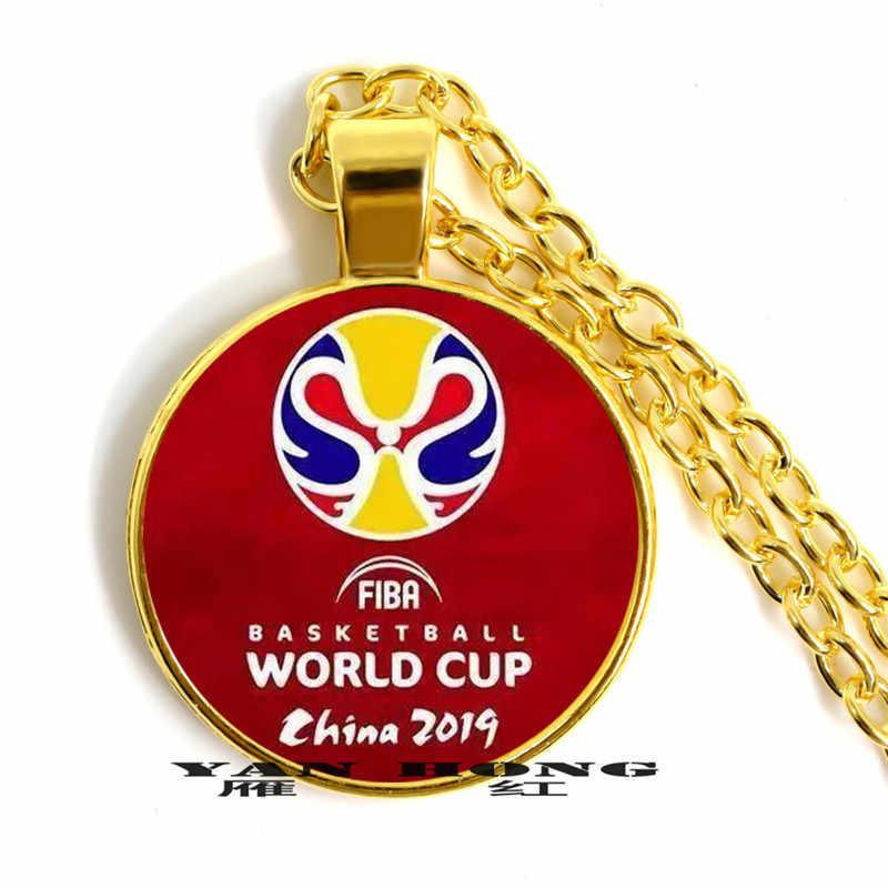 Il miglior souvenir regalo per gli amici è la collana braccialetto fatto da l'emblema del 2019 FIBA Basketball World tazza.