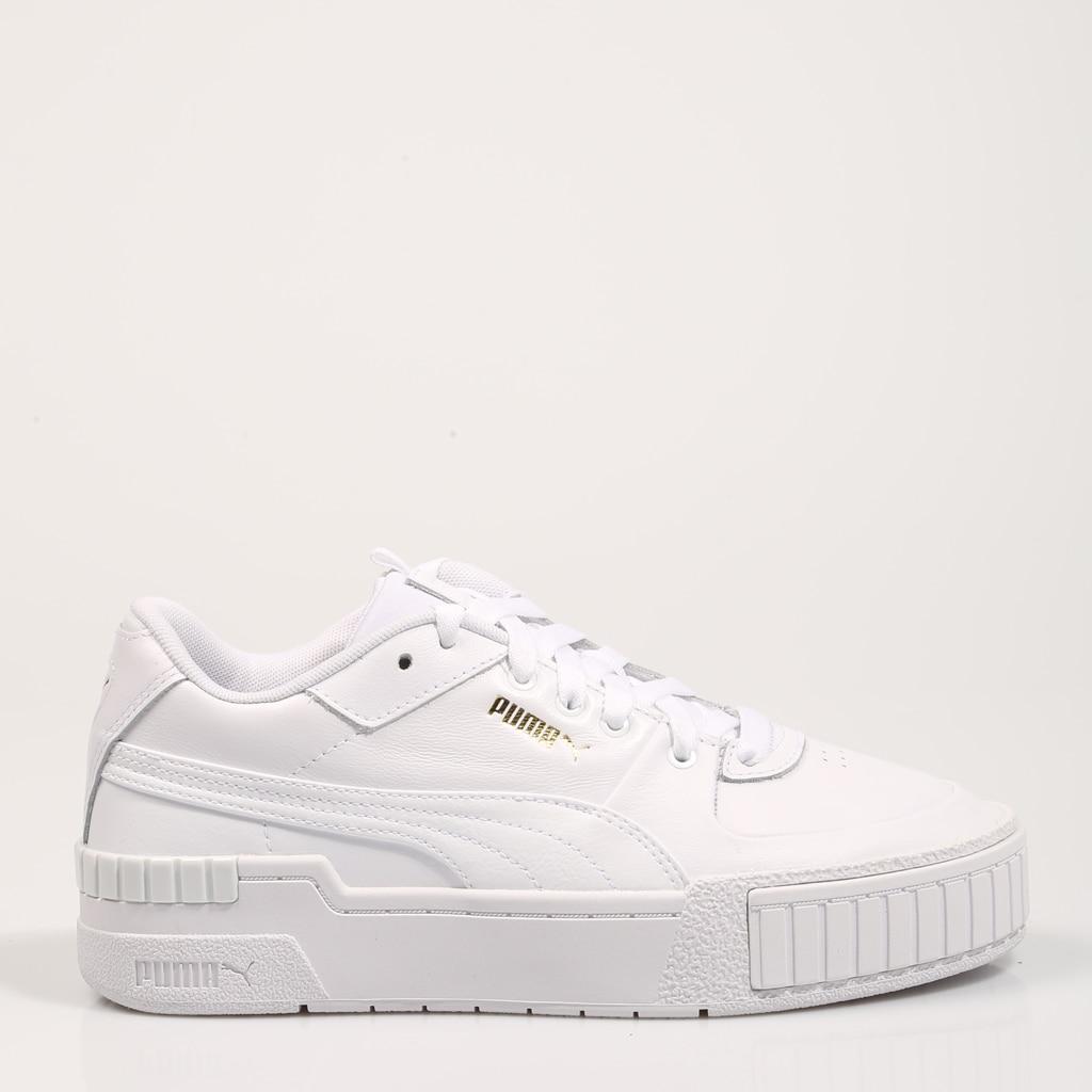 PUMA ZAPATILLAS CALI SPORT WHITE/WHITE 37387101 Blanco Piel Mujer – White SNEAKERS Woman Shoes Casual Fashion 71688