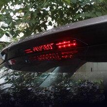 Модификация тормозной светильник высокие стоп-сигналы светильник Нержавеющаясталь патч для Peugeot 4008