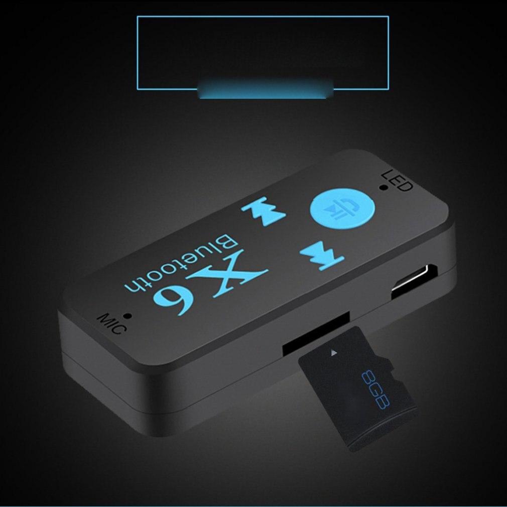 Портативный мини аудио ресивер Bluetooth 5,0, 3,5 мм, Hi-Fi, AUX, стерео, Bluetooth для ТВ, ПК, беспроводной адаптер для автомобильных динамиков, наушников