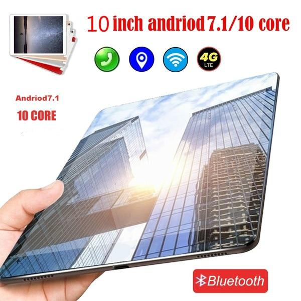 2020 NEW 10 Inch Android 8.0 Tablet Pc 10 Core  Original Powerful  6GB RAM 64GB Dual SIM 4G Phone Call Tab Phone Pc Tablets