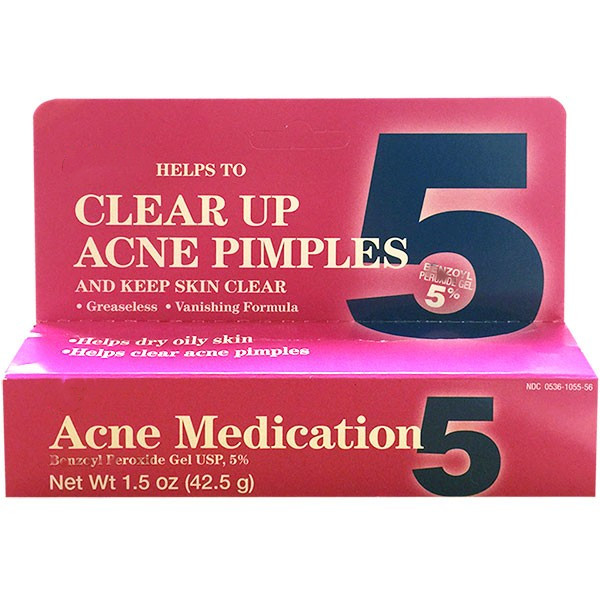 Gel 5% Acne Medication Clear Skin 42g
