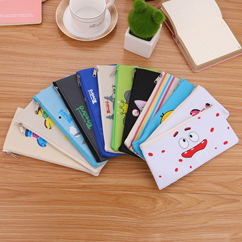 1pcs Chinchilla Pencil Case Novelty Kawaii Bag Student  Stationery Pencil Bag High Capacity Cute Pen Case Kawaii School Supplies