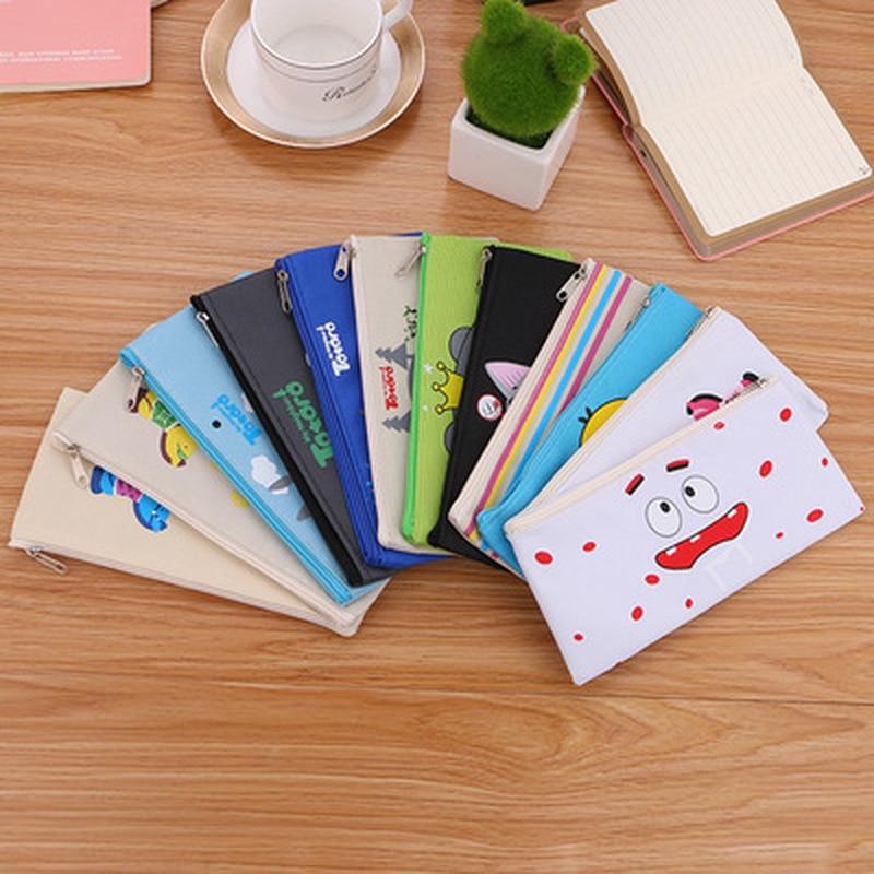 1pcs Chinchilla Pencil Case Novelty Kawaii Bag Student  Stationery Pencil Bag High Capacity Cute Pen Case Kawaii School Supplies