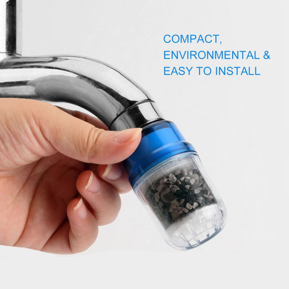 Environmental Kitchen Activated Carbon Water Filter Faucet Tap Household Water Purifier Remove Rust Sediment Filtering Suspended