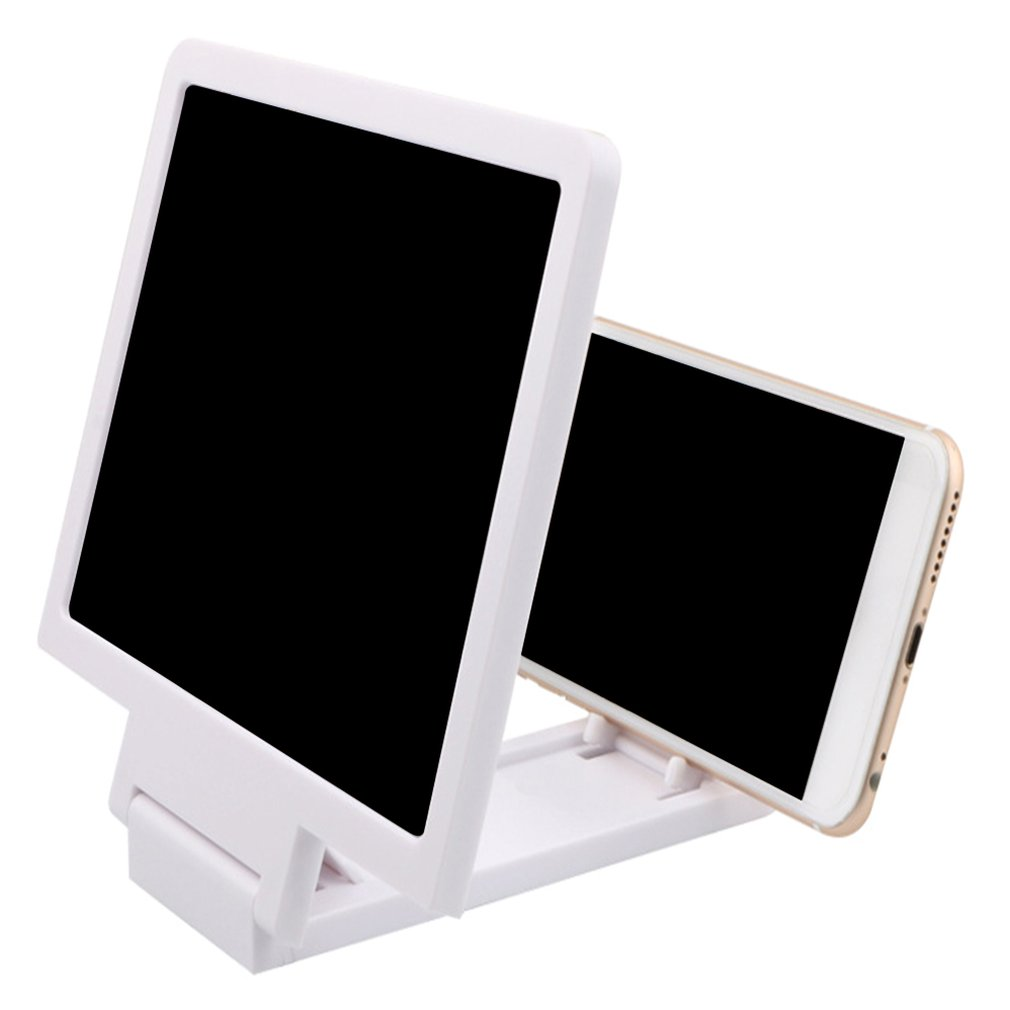 Portable Mobile Phone 3D Screen Amplifier Magnifying Glass Phone Holder HD Stand For Video Bicycle Holder Car Holder